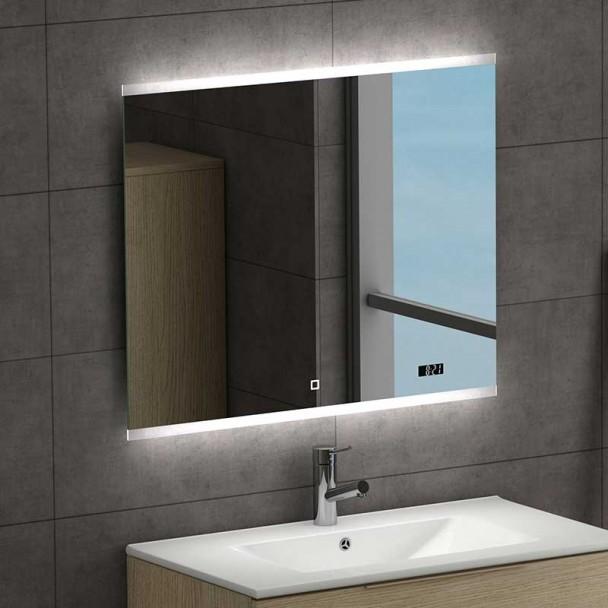 miroir led spoty pour la salle de bains. Black Bedroom Furniture Sets. Home Design Ideas