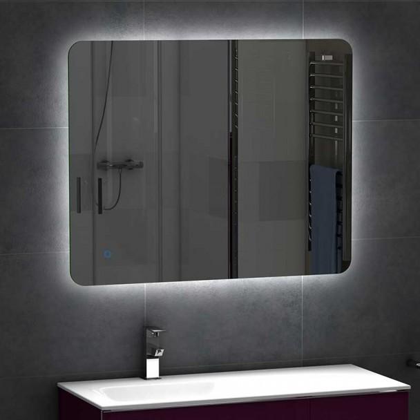 miroir led v rone salle de bain. Black Bedroom Furniture Sets. Home Design Ideas