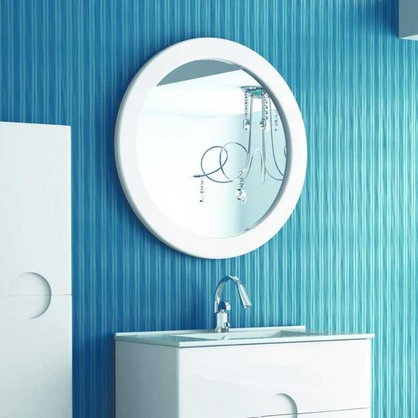 Miroir de salle de bains de la Sphère