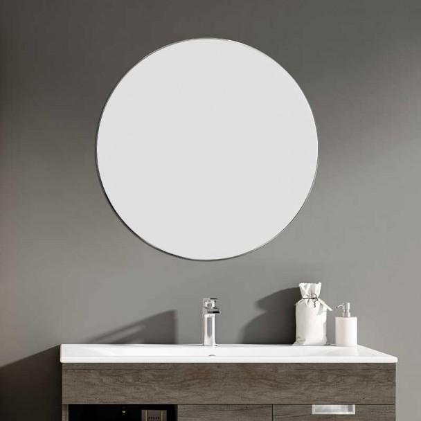 Miroir de salle de bains Ronde Zoom