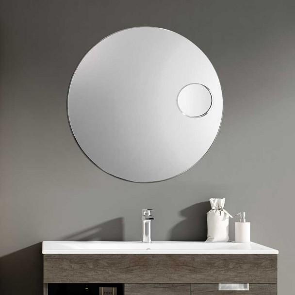 Miroir de salle de bains Zoom Plus Ronde