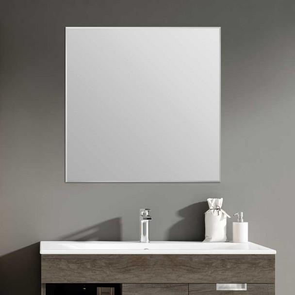 Miroir de salle de bains Square Biseau