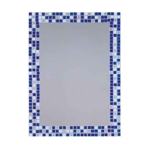 Miroir de salle de bain-Lune Piscine Bleu 55x75 cm