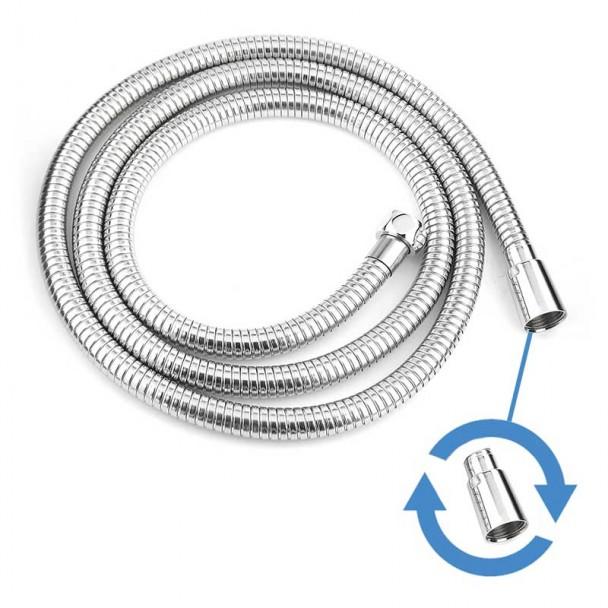 Tuyau flexible de col de cygne de Rotation de Douche en acier Inoxydable 170-220 cm