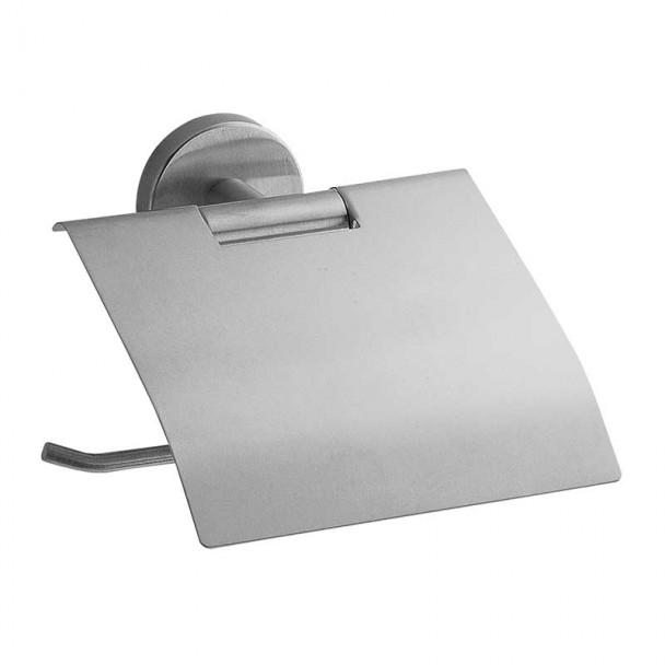 Porte-rouleau avec Couvercle en acier Inoxydable de la Série Belle