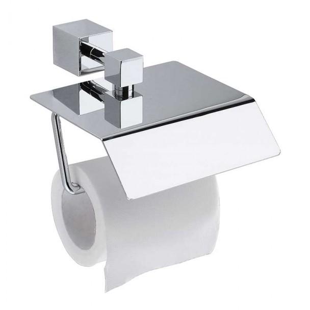 Toilettes porte-rouleau avec Couvercle 10 cm Série de Chrome Roi