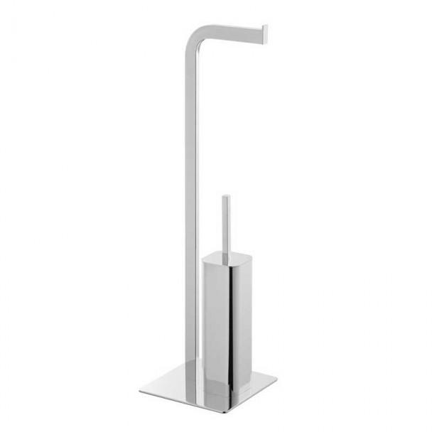 Porte-papier toilette Escobillero Permanent Chrome Courbe Duo 72 cm