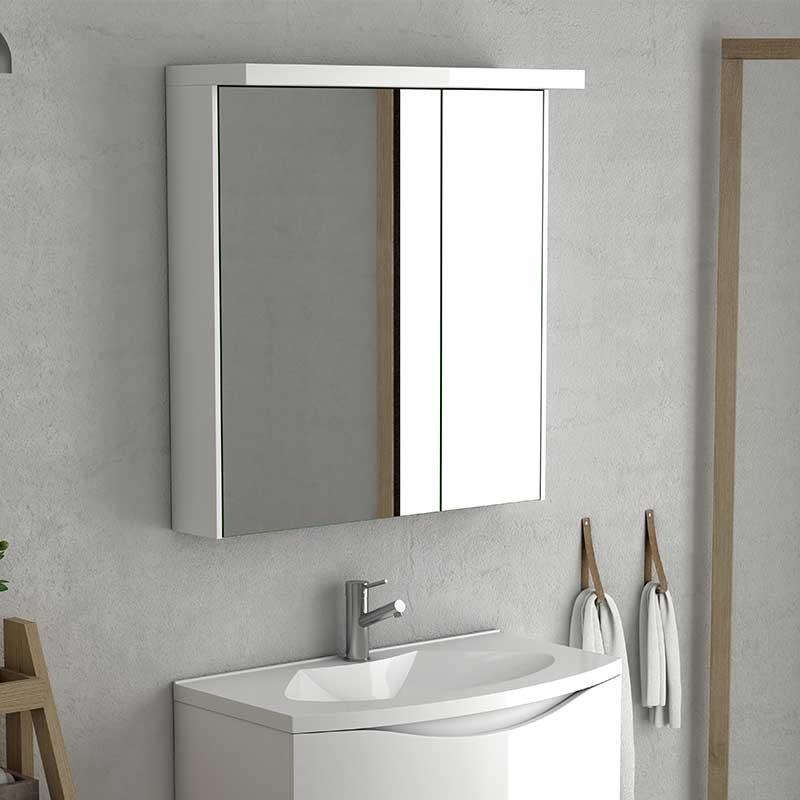 dressing salle de bain 2 portes skyline. Black Bedroom Furniture Sets. Home Design Ideas