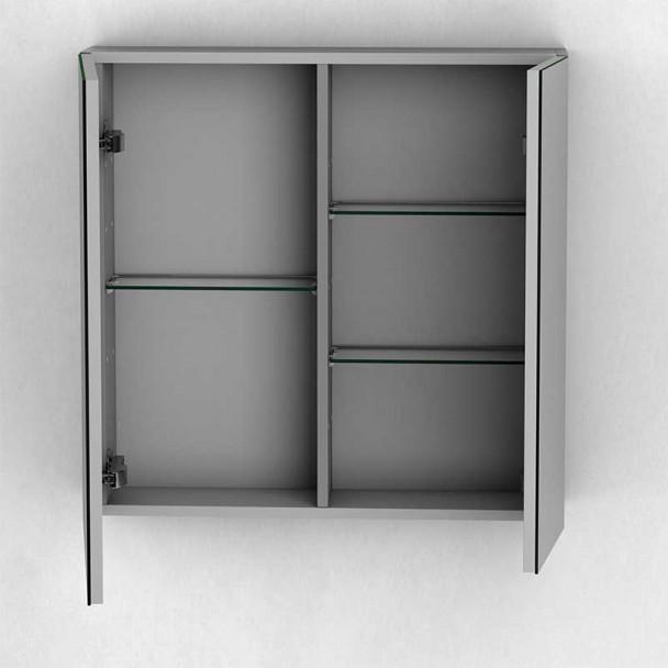 Dressing salle de Bain 2 Portes Flash en Aluminium